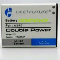 Batre Baterai Battery Lenovo A390 Double Power