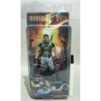 Mainan action figure Resident evil Chris redfield By neca Tinggi 7 inc