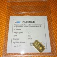 Emas Murni LM Antam 2.5 gram (Fine Gold 99.99%)