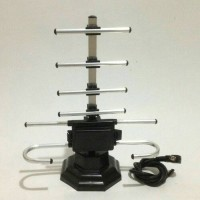 Antena I LOVE YOU / Indoor Antenna TV + Kabel Dalam UHF & VHF