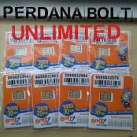 Perdana BOLT UNLIMITED 30hari khusus smartphone 4g lte