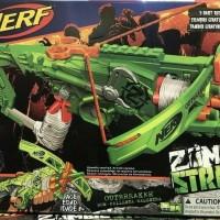 Pistol Panah NERF Crossbow Zombie Strike OUTBREAKER BOW Hasbro Origi