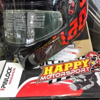 Helm full face AGV K3-SV Myth Made in Italy Size M L XL Dual visor