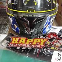 Helm Full Face AGV Corsa Mugello Mirror SNI original italy size L & XL