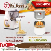 Promo Re Noodle RN-88 + Re Bread RB250 Gold / Re Noodle Re Bread Maker