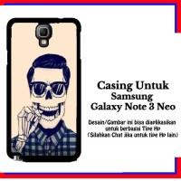 harga Casing Samsung Galaxy Note 3 Neo Smiley Custom Hardcase Cover Tokopedia.com