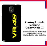 harga Casing Samsung Galaxy Note 3 Vr 46 Logo Custom Hardcase Cover Tokopedia.com