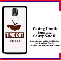 harga Casing Samsung Galaxy Note 3 Timeout Coffee 2 White Custom Hardcase Co Tokopedia.com