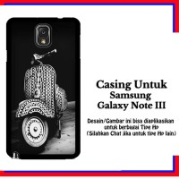 harga Casing Samsung Galaxy Note 3 Vespa Custom Hardcase Cover Tokopedia.com