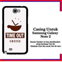 harga Casing Samsung Galaxy Note 2 Timeout Coffee 2 White Custom Hardcase Co Tokopedia.com