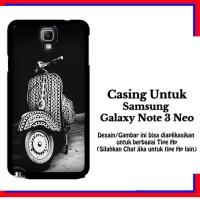 harga Casing Samsung Galaxy Note 3 Neo Vespa Custom Hardcase Cover Tokopedia.com
