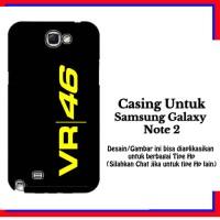 harga Casing Samsung Galaxy Note 2 Vr 46 Logo Custom Hardcase Cover Tokopedia.com
