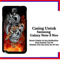 Casing Samsung Galaxy Note 3 Neo tiger z3 api Custom Hardcase Cover