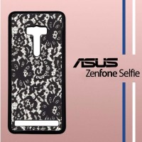 Lace Print Casing Custom Hardcase Hp Asus Zenfone Selfie Case