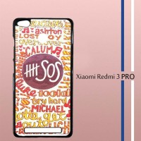 Second Of Summer 5sos Quote design Casing Custom Hardcase Hp Xiaomi