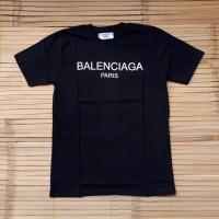 harga Kaos Tshirt Balenciaga Paris Black Tokopedia.com