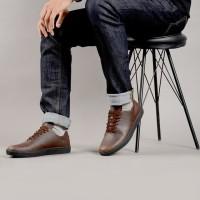 Sepatu Sneaker Casual SN-01 Brown - NAH Project