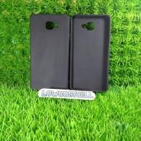 Case Matte Samsung A9 Pro/Soft Black Anti Minyak Softcase