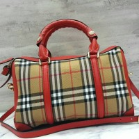 termurah Burberry Speedy Porsum Bag Hand Bag Tas Wanita Branded asli