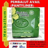 Pembalut Avail Panty Liner - Avail Bio Sanitary Pad