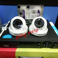Harga paket dvr xmeye 4 ch camera hikvision ori hardisk 1 tb wd | WIKIPRICE INDONESIA