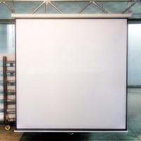"Screen projector wall mount 70"" - layar proyektor manual 70"" MAXTOR"