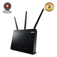 Asus RT-AC68U Dual-Band Gigabit Router Wireless-AC 1900 Mbps