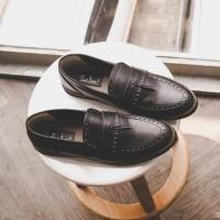 SEPATU KERJA PRIA GIANT PIERTA BLACK - GIANT FLAMES FOOTWEAR