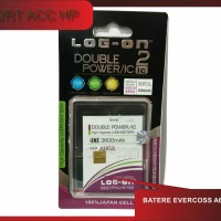 Batere Baterei Batre Double Power Log On Evercoss A66a
