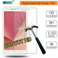 XIAOMI REDMI NOTE 5A PRIME PRO Tempered Glass Anti Gores Kaca Clear