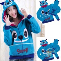 ASN9 JAKET STITCH TWO SMILE AND ONE BACK SWEATER MANTEL CEWE COWO COU