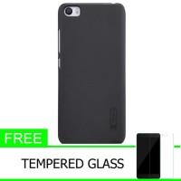 Nillkin Frosted Matte Hard Case XiaoMi Mi5 - Hitam +FreeTempered Glass
