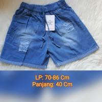 Celana Pendek Jeans Wanita 3