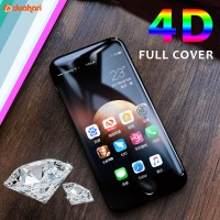 4D Tempered Glass iPhone 8 / 8 PLUS 8+ Screen Protector Full Cover
