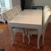 kursi makan sofa minimalis modern cantik meja rias tamu teras jati