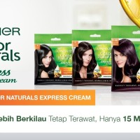 Pewarna Rambut Garnier Color Naturals Cream Sachet