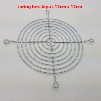 New Jaring Besi Fan DC AC Kipas 12cm x 12cm