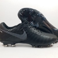 Sepatu Bola Nike Tiempo Legend VII All Black FG Replika Import