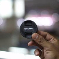 premium ready stock lensa yungnuo 50mm f1 8 alias lensa fix barang ba