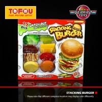 Harga mainan anak board game stacking burger | WIKIPRICE INDONESIA