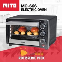 Mito Electric Oven 19 Liter Mo-666 - Gojek Only !!!