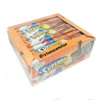 Superman Wafer Cokelat Isi 20Pcs (20 x 12Gr)