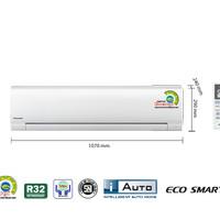 PANASONIC AC 2 PK PN18SKP + PASANG + PIPA 3 MTR-garansi RESMI