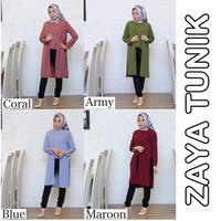 Promo Pakaian baju pesta wanita ZAYA TUNIK