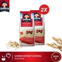 harga Quaker Instant Oatmeal 200 Gr(as2-qio200-9556174802236) Tokopedia.com