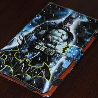 Book Cover / Flip Cover / Universal 7 Inch - Gambar Super Hero 3D
