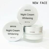 ERTOS Night Cream Whitening/ ERTO'S Night Cream BPOM Or Limited