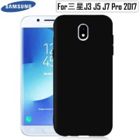 Best Casing HP Samsung Case Slim Black Matte Galaxy J3 J5 J7 Pro 17 J