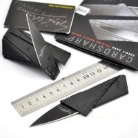 Pisau Lipat Mini kecil Kartu ATM Credit Card Sinclair knife Stainles