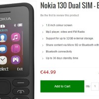 (Murah) HP Nokia 130 Garansi Resmi BNIB New